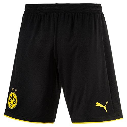 PUMA 2016-2017 Borussia Dortmund Home Shorts (Black) by PUMA