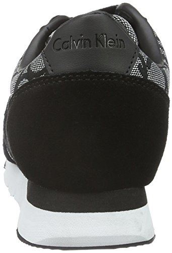 Multicolour Jacquard Low Tea Slb Black Sneakers Calvin Slb Suede Metallic WoMen Klein Jeans Top 1XqgWPZ