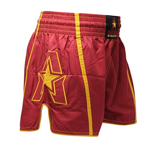 - Anthem Athletics Infinity Ghost G2 Muay Thai Shorts - Kickboxing, Thai Boxing - Ghost Oxblood G2 - Large