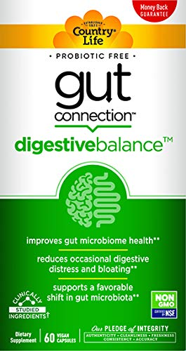 COUNTRY LIFE Digestive Gut Connection, 60 CT