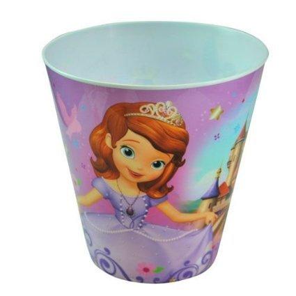Disney Princess Sofia the First Plastic Trash Can United Pacific Designs