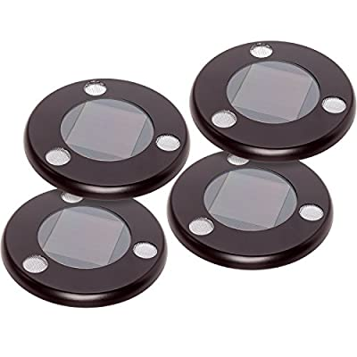 GreenLighting Solar Flat In-Ground Driveway Light Set 4 Pack