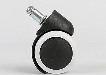 DaHanBL - Juego de 5 Ruedas giratorias para Silla de Oficina (5 cm): Amazon.es: Hogar