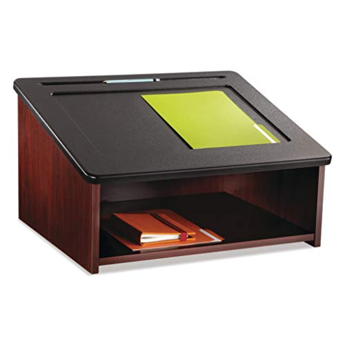 (SAF8916MH - Material : Laminated, Wood - Safco Tabletop Lectern - Each)