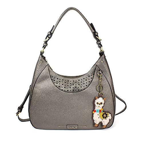 Hobo Llama Crossbody Tote Bag Pewter Large Grey Sweet Shoulder 4qZ7wxzP