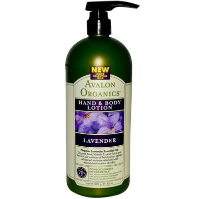 Price comparison product image Avalon Organics Lavender Hand and Body Lotion, 32 Ounce -- 3 per case.