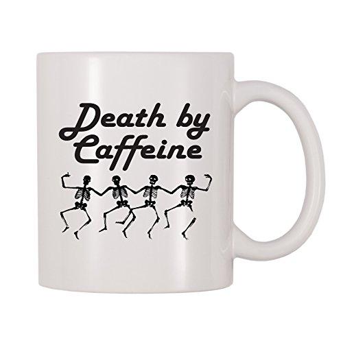 4 All Times Death By Caffeine Mug (11 oz) -