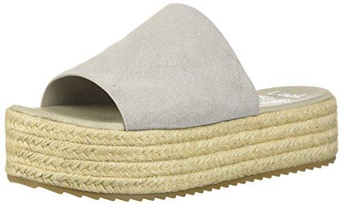 Sandway Sandalo Con Zeppa Espadrillas Coolway Grigio