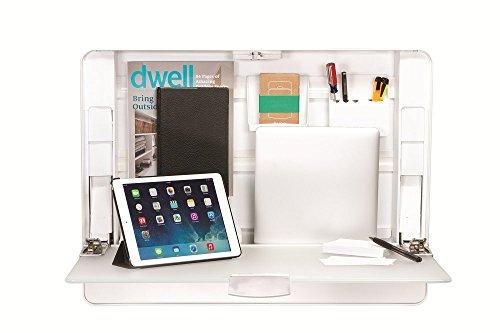 ErgotronHome Workspace Wall Mounted, Height-Adjustable Standing Desk & Organizer (HUB27 White) by ErgotronHome (Image #7)
