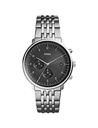 Fossil Men's Chase - FS5489 Silver One Size