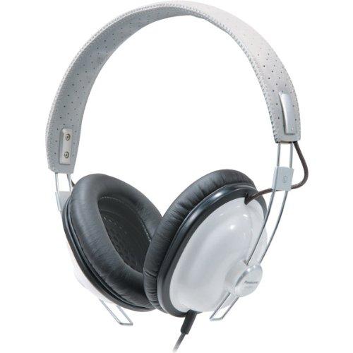 White Retro-Style Monitor Headphones Electronics & computer accessories - Panasonic Monitor Style Headphones