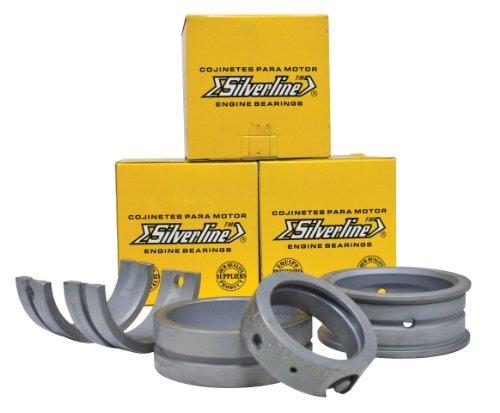 EMPI Air Cooled VW Silverline Steel Back Main Bearing Set, STD/STD 1200-1600 98-1461-S - Center Main Bearing