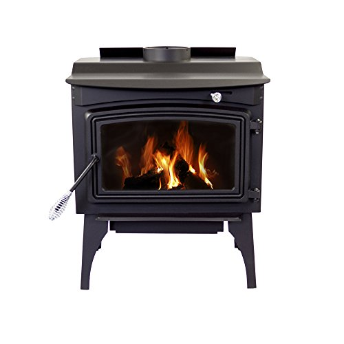 Pleasant Hearth WS-2720 1800 sq. ft. Wood Stove with Leg Base, Medium (Hearth Brick For Wood Stove)