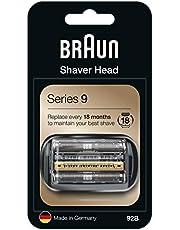 Braun Serie 9 92B Ersättningshuvud för Elektrisk Rakapparat, Silver