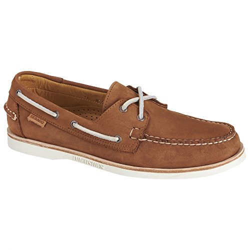 Crest Nubuck Shoe Men's Boat Dockside Tan Sebago PxYBq85wx