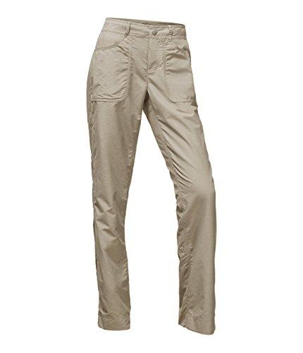 The North Face Women's Horizon 2.0 Pants - Granite Bluff Tan Heather - 8
