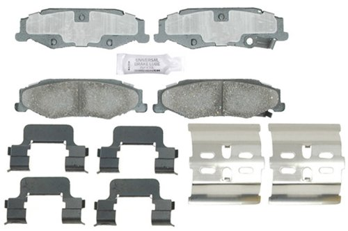 ACDelco 17D732CH Professional Ceramic Rear Disc Brake Pad Set ()