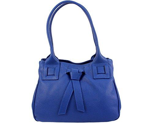 Italie à Bleu Isabelle Roi cuir CHLOLY Sac main X1A66p