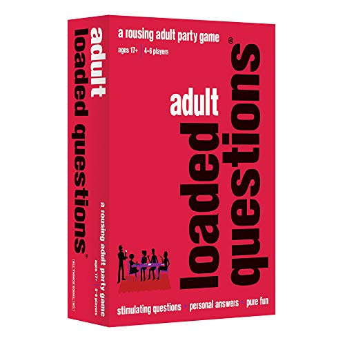 Adult Loaded Questions-A Rousing Adult Party Game -