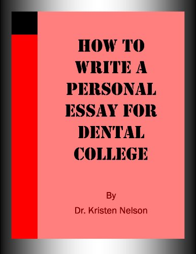 Download How to Write a Persona Essay for Dental College Pdf
