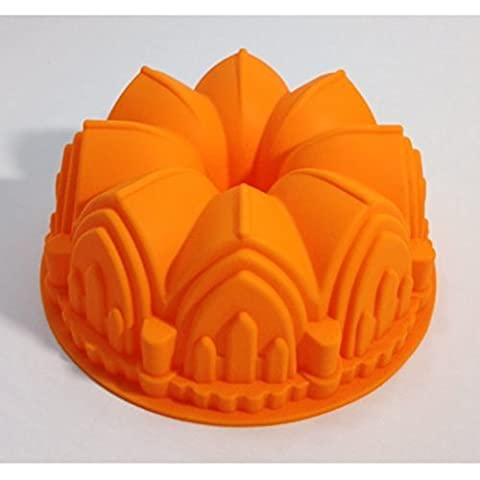 Sculpted Castle Cathedral Bundt Pan Bakeware Tasteless, Non-toxic, Anti Dust, Durable, No Penetration, Easy To - Heritage Fat Quarter Bundle