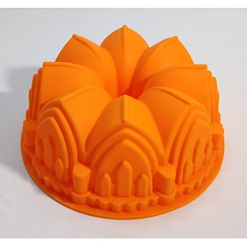 Sculpted Castle Cathedral Bundt Pan Bakeware Tasteless, Non-toxic, Anti Dust, Durable, No Penetration, Easy To Clean.