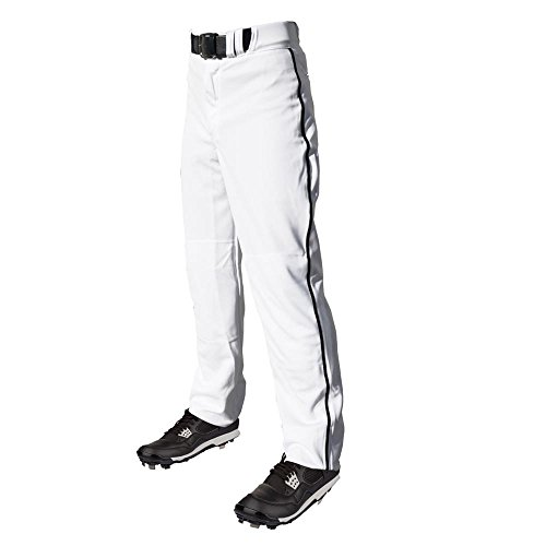 C6 Pro Series Open Bottom Baseball Pants with Piping