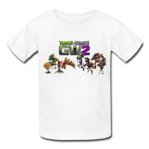 Amazon.com: Kazzar Kids Plants Vs Zombies Garden Warfare 2 Round Collar T Shirt: Clothing