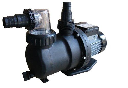 Steinbach Sandfilteranlagenzubehör Filterpumpe SPS 75-1T, mit Zeitschaltuhr, Schwarz, 142 l/min / 450 W / 230 V