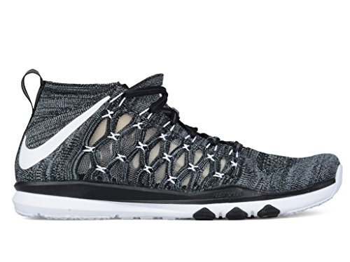 Nike Hombres Train Ultrafast Flyknit Running / Zapatillas De Entrenamiento Black / White - Antracita