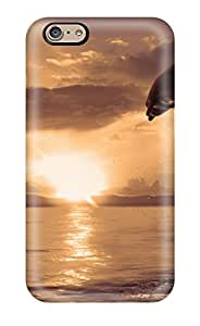 New Arrival Case Cover With FyzhKos2972PNQVt Design For Iphone 6- Dolphin