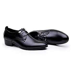 Blivener Men's Tuxedo Dress Shoes Fashion Oxford