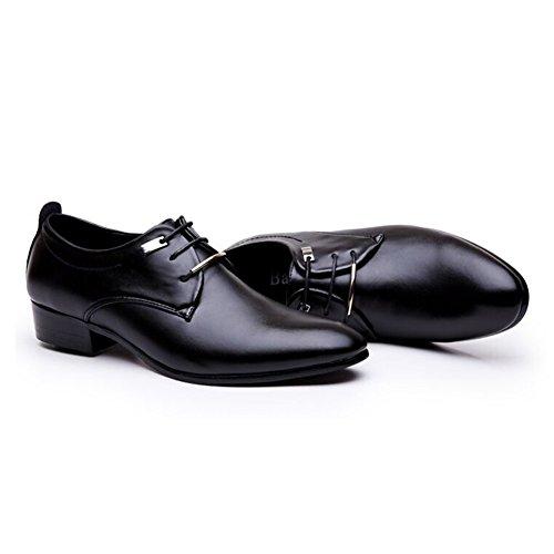 Blivener Mens Tuxedo Dress Shoes Fashion Oxford