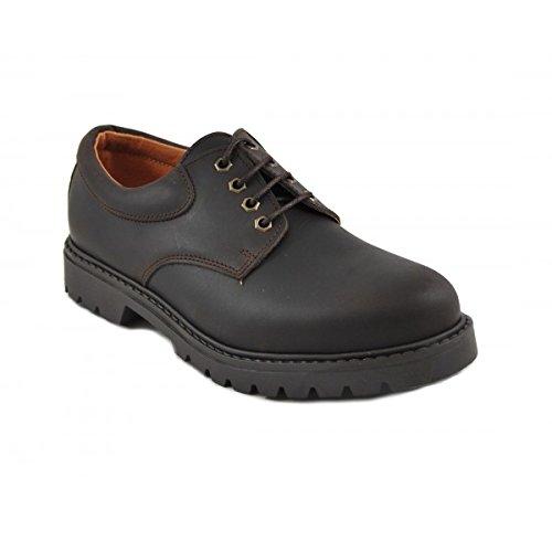 Benavente , Chaussures de ville à lacets pour homme marron 44