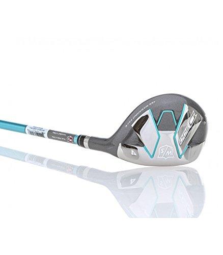 (Right Hand, Graphite, Regular, 28.5 Degrees) - Wilson Staff Women's D300 Hybrid Golf Club B01NAV6ZNO