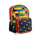 "LEGO 16"" Backpack w/Lunch Bag Standard"