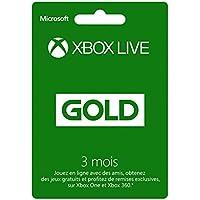 Abo-kaart Xbox Live Gold - 3 maanden