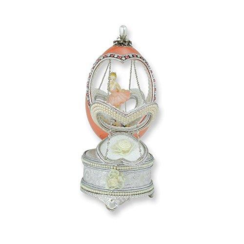 Enamel Ballerina Charm - Jewelry Adviser Gifts Ballerina Musical Goose Egg