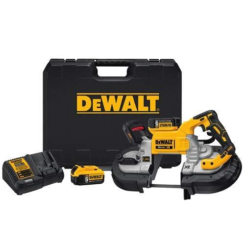 DEWALT DCS376P2 20V Dual Handed Bandsaw Kit