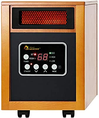 Amazon Com Dr Infrared Heater Portable Space Heater 1500 Watt Home Kitchen