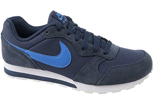 Nike Boys' Md Runner 2 (Gs) Competition Running Shoes, Red Mehrfarbig (Blue 001)