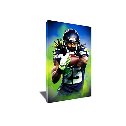 Richard Sherman Painting Poster Artwork on Canvas Art Print