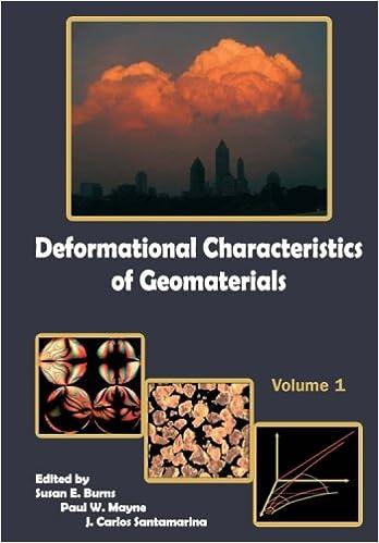 Deformational Characteristics of Geomaterials