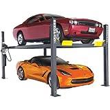 BendPak 4-Post Wide/Standard Lift, 9,000-Lb. Capacity, Gray, Model# HD-9