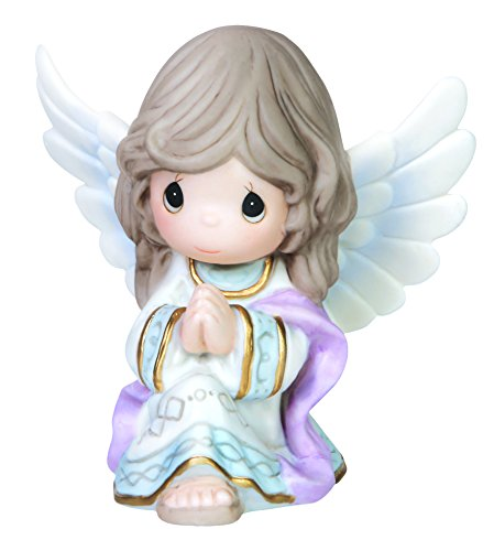 Precious Moments Praise to The New Born King Angel Ornament, -