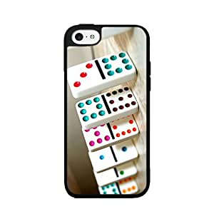 Game of Dominos - Phone Case Back Cover (iPhone 5c Black - Plastic)