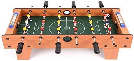 SZNWJ Mesa de futbolín, fácilmente Ensamble de Madera Juego de ...