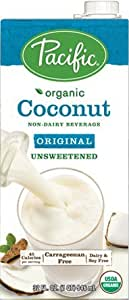 Pacific Foods, Organic Unsweetened Coconut - Original (Pack of 2)