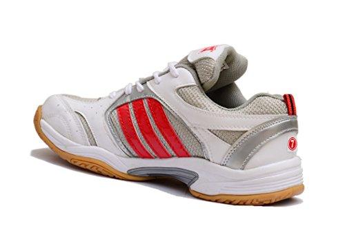 3M Zapatillas de Bádminton Para Hombre White/Orange