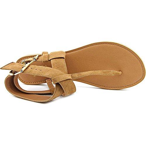 Chelsea & Zoe - Sandalias de vestir para mujer marrón claro